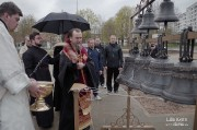 Епископ Нарвский и Причудский Лазарь освятил колокола, которые будут созывать в Нарве верующих на молитву_29