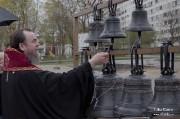 Епископ Нарвский и Причудский Лазарь освятил колокола, которые будут созывать в Нарве верующих на молитву_35