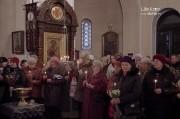 В канун Вербного воскресенья епископ Нарвский и Причудский Лазарь возглавил Всенощное бдение в кафедральном Нарвском Воскресенском соборе _20