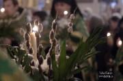 В канун Вербного воскресенья епископ Нарвский и Причудский Лазарь возглавил Всенощное бдение в кафедральном Нарвском Воскресенском соборе _36